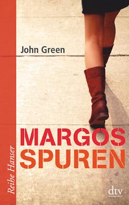 """""""Margos Spuren"""" von John Green, Jugendbuch"""