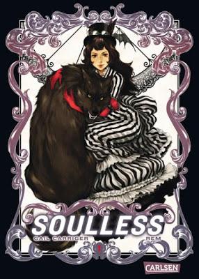 """""""Soulless"""" von Gail Carriger, Manga"""