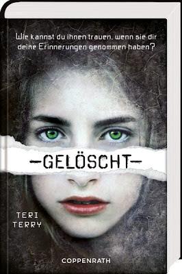 """""""Gelöscht"""" von Teri Terry, Jugendbuch"""