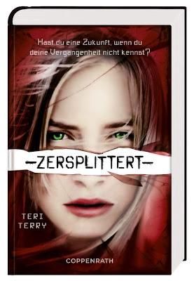 """""""Zersplittert"""" von Teri Terry, Jugendbuch"""