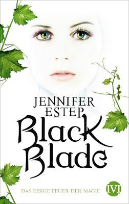 """""""Black Blade #1 - Das eisige Feuer der Magie"""" von Jennifer Estep, Jugendbuch"""