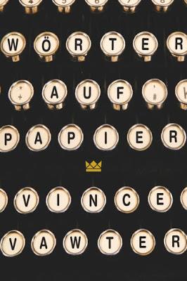 """""""Wörter auf Papier"""" von Vince Vawter, Jugendbuch"""