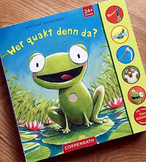 """""""Wer quakt denn da?"""" von Anne Taube und Günther Jakobs, Kinderbuch"""
