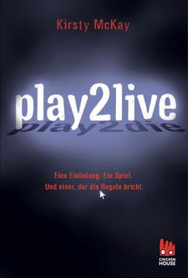 """""""Play2live"""" von  Kirsty McKay, Thriller"""