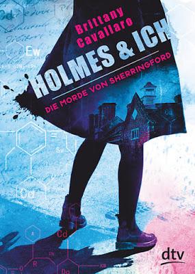 """""""Holmes und ich – Die Morde von Sherringford"""" von Brittany Cavallaro, Jugendbuch"""