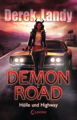 """""""Demon Road"""" von Derek Landy, Jugendbuch"""