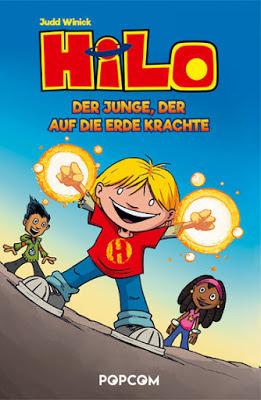"""""""Hilo: Der Junge, der auf die Erde krachte"""" von Judd Winick"""