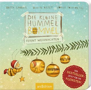 """""""Die kleine Hummel Bommel feiert Weihnachten"""" von Britta Sabbag, Maite Kelly und Joëlle Tourlonias, Kinderbuch"""