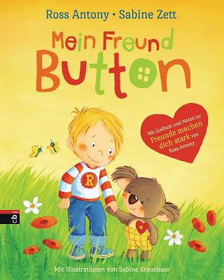 """""""Mein Freund Button"""" von Sabine Zett und Ross Antony, Kinderbuch"""