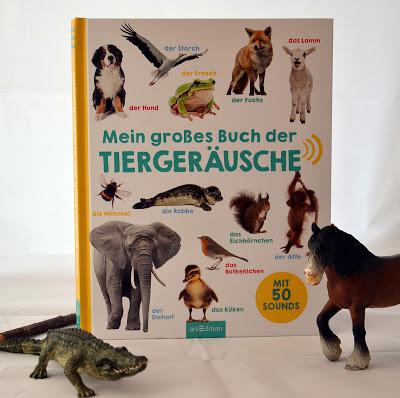 """""""Mein großes Buch der Tiergeräusche"""", Kinderbuch"""