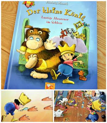 """""""Der kleine König - Lustige Abenteuer im Schloss"""" von Hedwig Munck, Kinderbuch"""