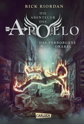 """""""Die Abenteuer des Apollo 1: Das verborgene Orakel"""" von Rick Riordan, Jugendbuch"""