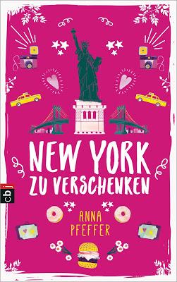 """""""New York zu verschenken"""" von Anna Pfeffer, Jugendbuch"""