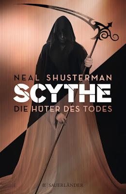 """""""Scythe – Die Hüter des Todes"""" von Neal Shusterman, Jugendbuch"""
