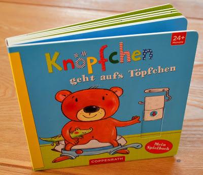 """""""Knöpfchen geht aufs Töpfchen"""" von Katja Richert und Martina Badstuber, Kinderbuch"""