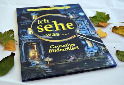 """""""Ich sehe was, Gruselige Bilderrätsel"""" von Jean Marzollo und Walter Wick, Kinderbuch"""