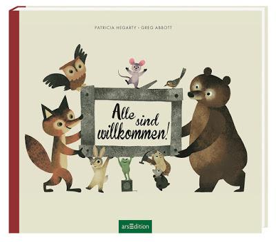 """""""Alle sind willkommen!"""" von Patricia Hegarty und Greg Abbott, Kinderbuch"""