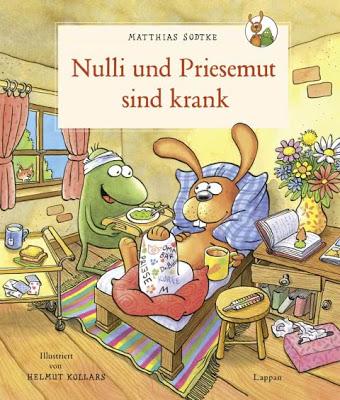 """""""Nulli und Priesemut sind krank"""" von Matthias Sodtke und Helmut Kollars, Kinderbuch"""