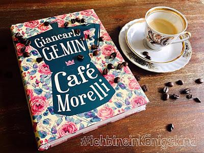 """""""Café Morelli"""" von G.R.Gemin, Jugendbuch"""