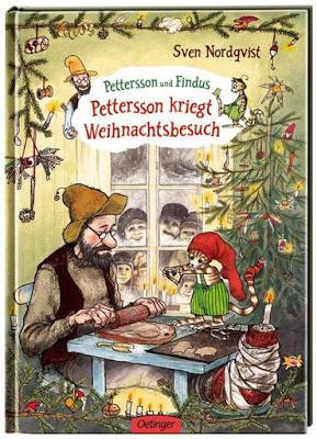 """""""Pettersson und Findus: Pettersson kriegt Weihnachtsbesuch"""" von Sven Nordqvist, Kinderbuch"""