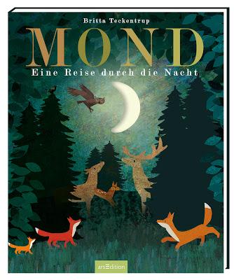 """""""Mond: Eine Reise durch die Nacht"""" von Patricia Hegarty und Britta Teckentrup, Kinderbuch"""