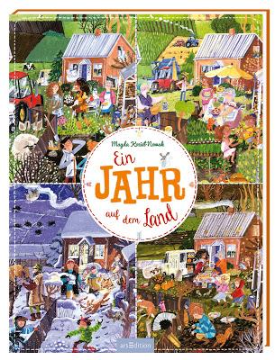 """""""Ein Jahr auf dem Land"""" von Magdalena Kozieł-Nowak, Kinderbuch"""