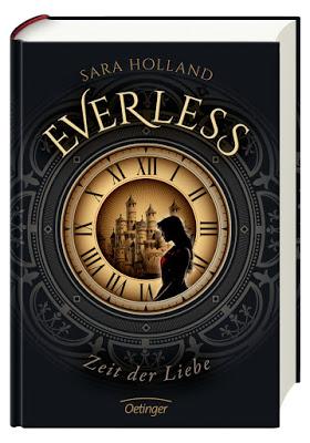 """""""Everless - Zeit der Liebe"""" von Sara Holland, Jugendbuch"""
