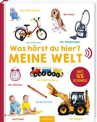 """""""Was hörst du hier? - Meine Welt"""", Kinderbuch"""