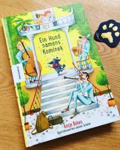 Ein Hund namens Kominek von Antje Bones, Kinderbuch