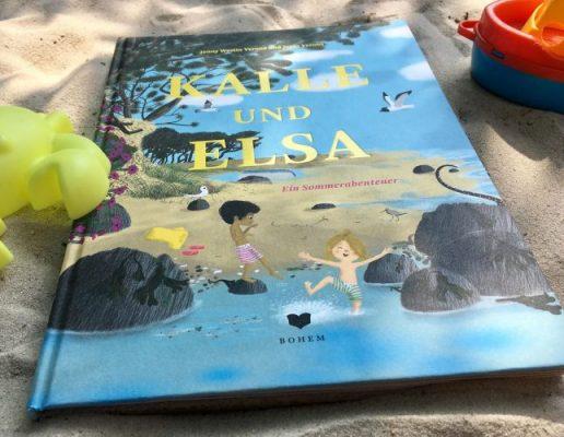 """""""Kalle und Elsa - Ein Sommerabenteuer"""" von Jenny Westin Verona und Jesús Verona, Bilderbuch"""