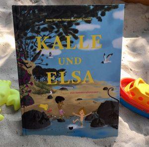"""""""Kalle und Elsa - Ein Sommerabenteuer"""" von Jenny Westin Verona und Jesús Verona, Kinderbuch"""