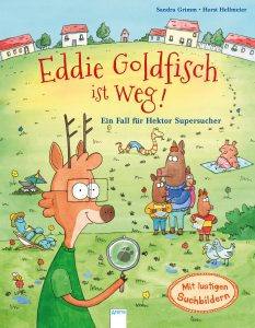 Eddie Goldfisch ist weg! Ein Fall für Hektor Supersucher, Bilderbuch