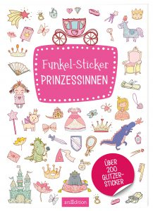 Funkel-Sticker - Prinzessinnen