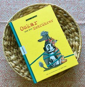 Oskar und die Entführer von Frauke Nahrgang, Kinderbuch