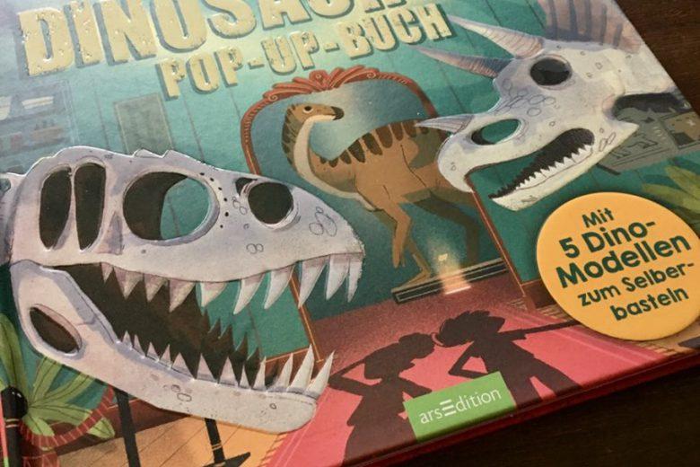 Mein großes Dinosaurier-Pop-up-Buch, Kinderbuch