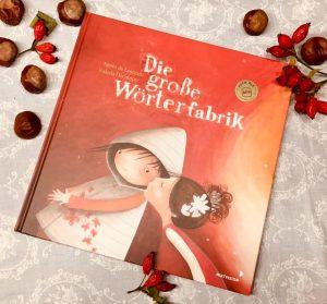 Die große Wörterfabrik von Agnès de Lestrade und Valeria Docampo, Bilderbuch