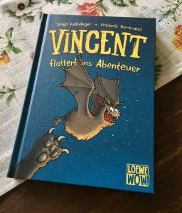 Vincent flattert ins Abenteuer von Sonja Kaiblinger und Fréderic Bertrand, Kinderbuch