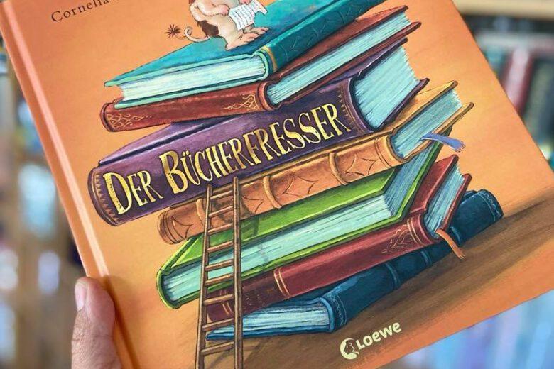 Der Bücherfresser von Cornelia Funke, Bilderbuch