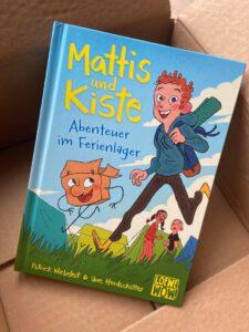 Mattis und Kiste - Abenteuer im Ferienlager, Kinderbuch