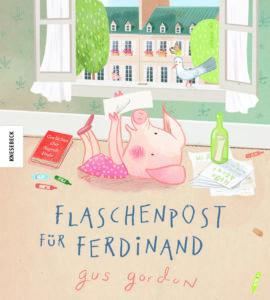 Flaschenpost für Ferdinand von Gus Gordon, Kinderbuch