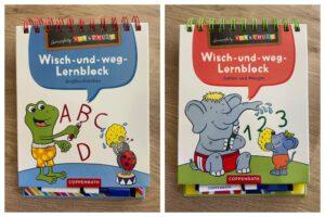 Lernerfolg Vorschule: Wisch-und-weg-Lernblock