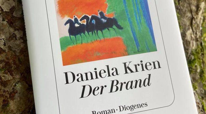 Der Brand von Daniela Krien, Roman