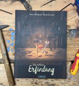 Die verflixte Erfindung - Martin Widmark und Emilia Dzuibak, Bilderbuch