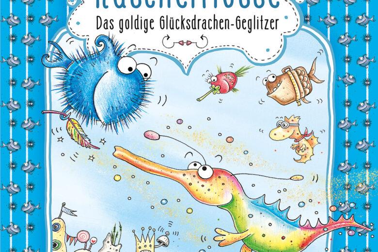 Kuschelflosse - Das goldige Glücksdrachen-Geglitzer von Nina Müller, Kinderbuch